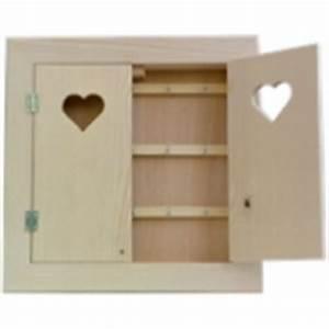 Boite A Cles Bois : mini brouette en bois maison pratic boutique pour vos loisirs creatifs et votre deco ~ Melissatoandfro.com Idées de Décoration