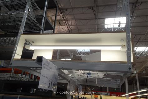 led tube lights costco feit electric 4ft led shop light