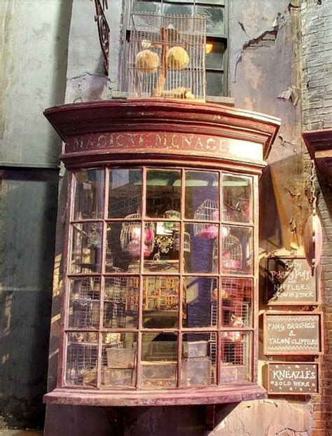 diagon alley  making  harry potter  literature
