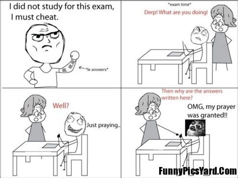 Exam Cheating Funny Quotes