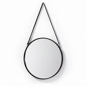 Miroir Rond Cuir : 12 best miroir rond images on pinterest mirrors round mirrors and circle mirrors ~ Teatrodelosmanantiales.com Idées de Décoration