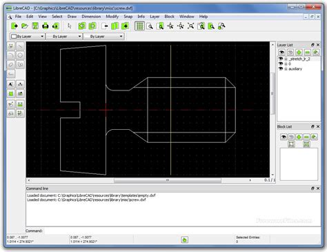 librecad   rc   screenshot freeware