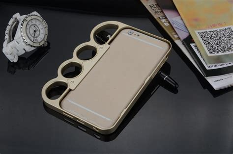 New!!100% Metal! Cool Knuckle Style Finger Rings Cases For