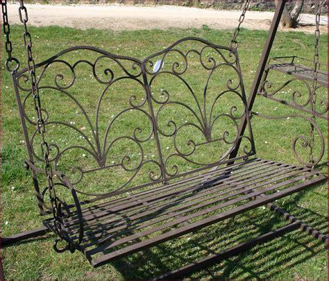 chaise balancoire style ancien banc fauteuil balancoire balancelle de jardin