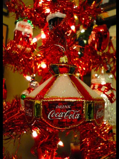 47 best coca cola christmas ornaments images on pinterest
