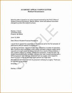 10 academic suspension appeal letter sample lease template With academic probation letter template