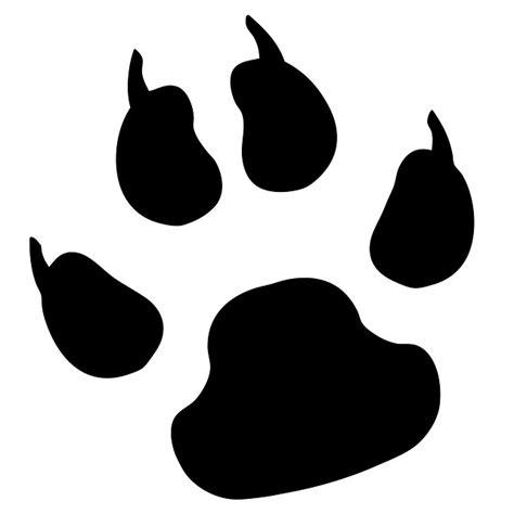 bobcat paw prints cliparts co