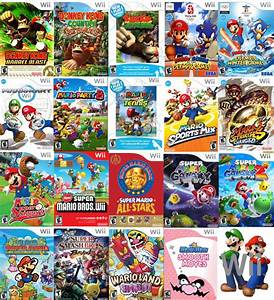 Mario39s Wii Games By Sonictoast On DeviantArt