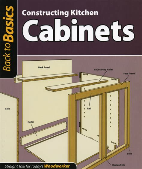 update   basics constructing kitchen cabinets