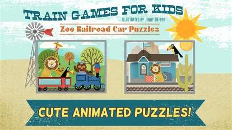 train games kindergarten puzzle game animated puzzles cool zoo hd fun children young preschool amazon railroad android