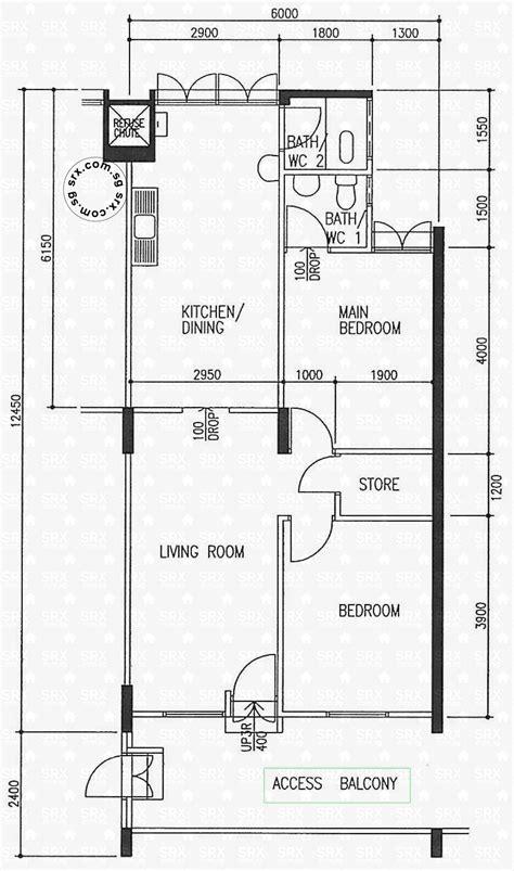 Floor Plans For Ang Mo Kio Avenue 4 Hdb Details  Srx Property