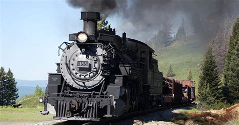 Driving A Historic Steam Locomotive
