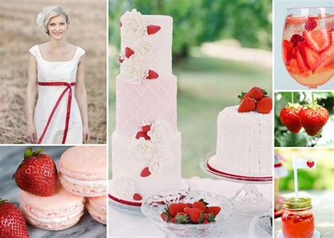 hochzeit mit erdbeeren  der dekoration friedatherescom