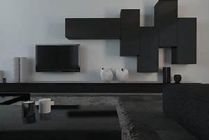 Meuble Tv En Hauteur : quelle hauteur pour un meuble tv suspendu cdiscount ~ Teatrodelosmanantiales.com Idées de Décoration