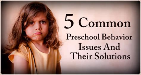 5 common preschool behavior issues and their solutions 739 | 1560