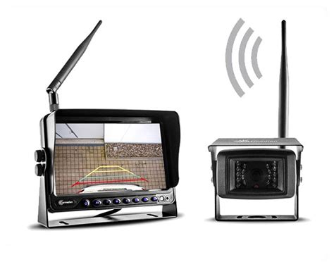 funk überwachungskamera mit monitor funk r 252 ckfahrkamera mit 7 monitor f 252 r pkw lkw wohnmobil