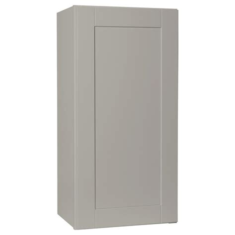 kitchen cabinet assembly hton bay shaker assembled 18x36x12 in wall kitchen 2353
