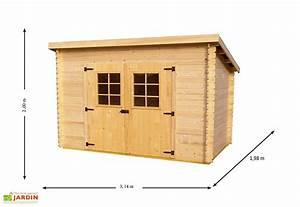 Abri De Jardin Monopente : abri de jardin bois 20 mm monopente 198x314x200cm habrita ~ Dailycaller-alerts.com Idées de Décoration