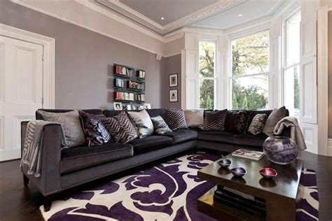 Grey And Purple Living Room Designs by Purple And Gray Living Room Ideas Home Decor Inspiration