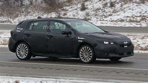 2017 subaru impreza hatchback 2017 subaru impreza hatchback spied during final testing