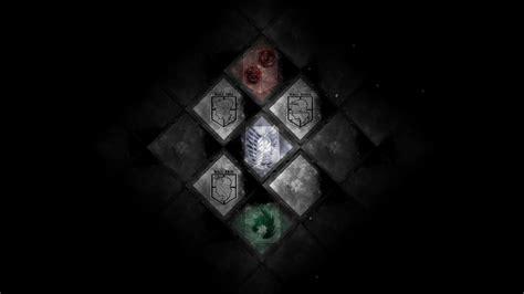 Cool Attack On Titan Wallpaper Attack On Titan Flag Emblem 95 Wallpaper Hd