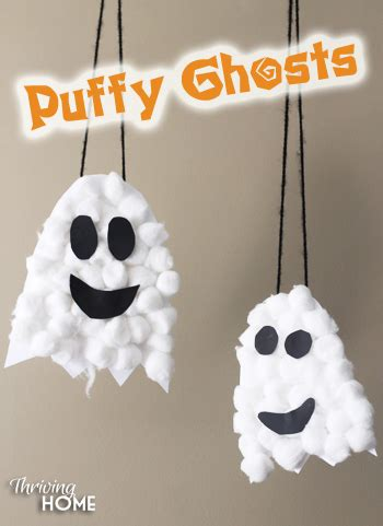 cotton ghost craft for vie 10 crafts for toddlers vie 7525