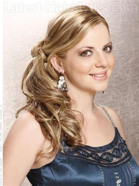 Hairstyles Side by Side Hairstyles For Prom Gorgeous Side Prom Hairstyles
