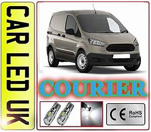 2 X Led Transit Courier 2014