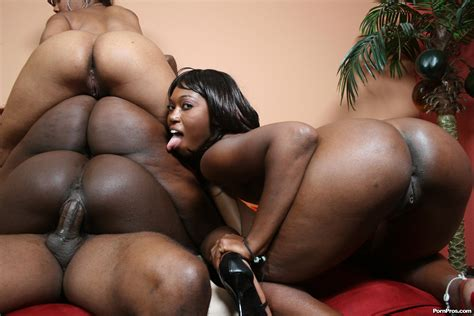 Interracial Big Black Ebony Booty Group Sex