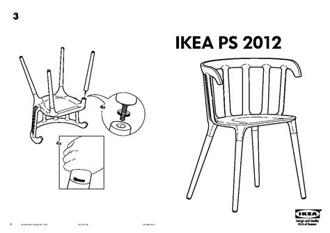 table et chaise bébé ikea trendy ikea ps chaise accoudoirs with table chaises ikea