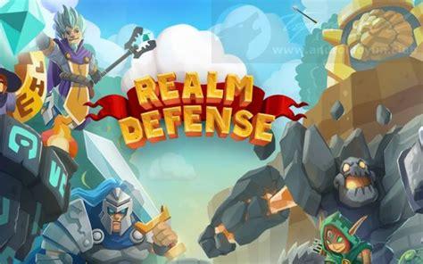 realm defense hero legends td  mod apk mega hileli