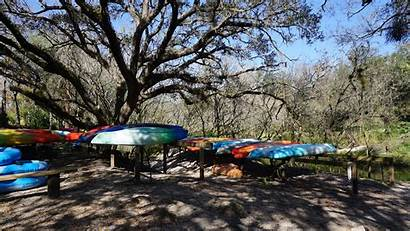 Manatee River Park State Canoe Outpost Florida