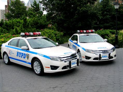Ford Fusion Police Car