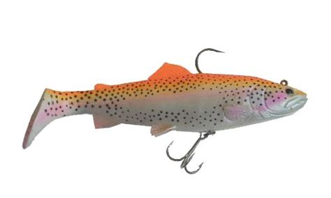 Savage Gear 3d Trout Rattle Shad Golden Albino Rainbow