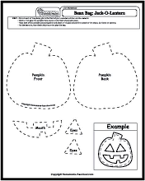 art worksheets bean bags