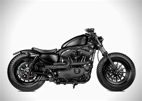 Harley Forty-eight Custom By Rough Crafts