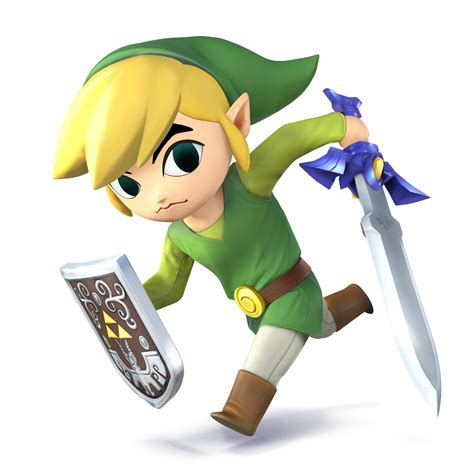 Super Smash Bros For Nintendo 3ds And Wii U Toon Link