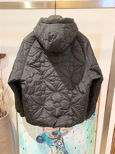 louis vuitton reversible monogram puffer jacket