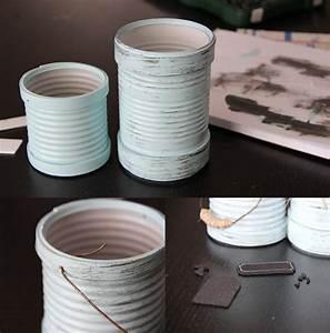 Ouvrir Un Pot De Peinture : recycler des boites de conserve en pots de fleurs id e cr ativeid e cr ative ~ Medecine-chirurgie-esthetiques.com Avis de Voitures