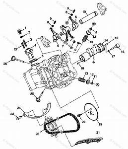 Polaris Atv 1998 Oem Parts Diagram For Intake  U0026 Exhaust