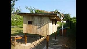 Construire Un Poulailler En Bois : comment construire un poulailler youtube ~ Melissatoandfro.com Idées de Décoration