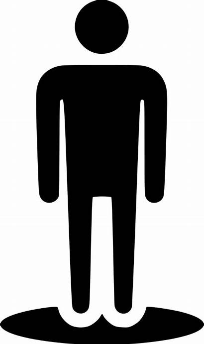 Human Icon Stand User Male Street Svg