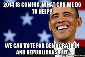 2014 is coming. What can we do to help? We can vote for ...