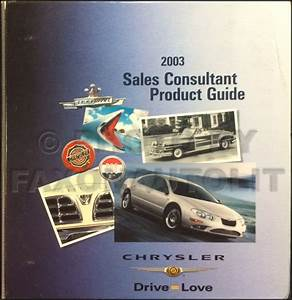 2003 Sebring  U0026 Stratus Coupe Repair Shop Manual Original 4