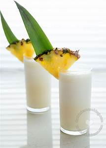 Piña Colada Recipe (Rum, Pineapple and Coconut Cocktail)