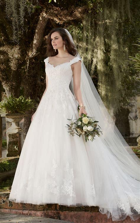 wedding dresses  sleeves cap sleeve wedding dress