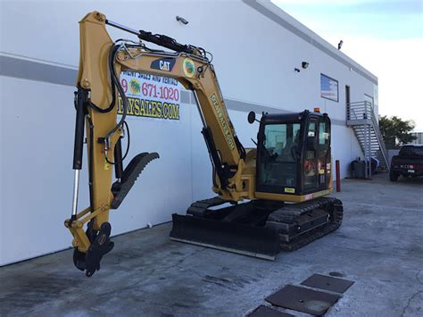 caterpillar  cr hydraulic excavator