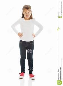 Angry Little Girl Stock Photo - Image: 45803699