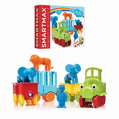 Train Animal Smartmax Magnetic Toys Animals Play
