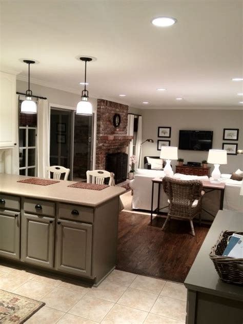 kitchen island instead of table 4 ways and 26 exles to ease the floor transition digsdigs